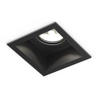 Plafonnier plano ip44 1 0 led noir ip44 led 2700k 480lm o8 5cm h8 8cm wever ducre normal