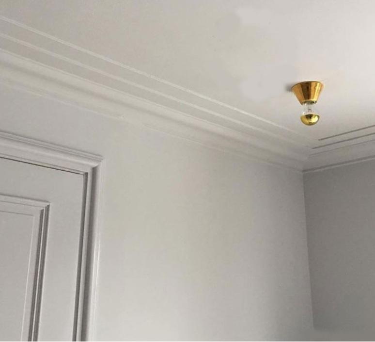 Porecelaine 18k studio zangra plafonnier ceilling light  zangra light 001 005 go  design signed nedgis 64926 product