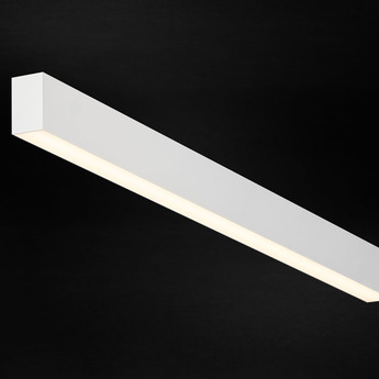 Plafonnier profile ready to go ledliner35 down blanc led 2700k 6030lm dimmable l172cm h6cm l3 5cm doxis normal