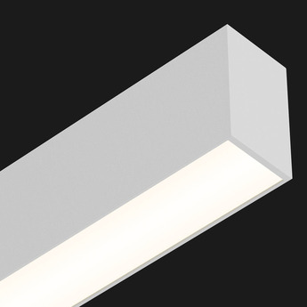 Plafonnier profile ready to go ledliner35 down blanc led 2700k 7035lm dimmable l200cm h6cm l3 5cm doxis copy of normal