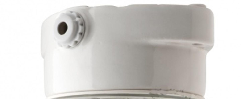 Plafonnier pure porcelaine 002 blanc ip54 o8 5cm h14 5cm zangra normal