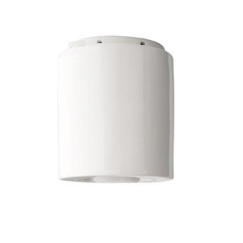 Plafonnier pure porcelaine blanc o12cm h14 5cm zangra normal