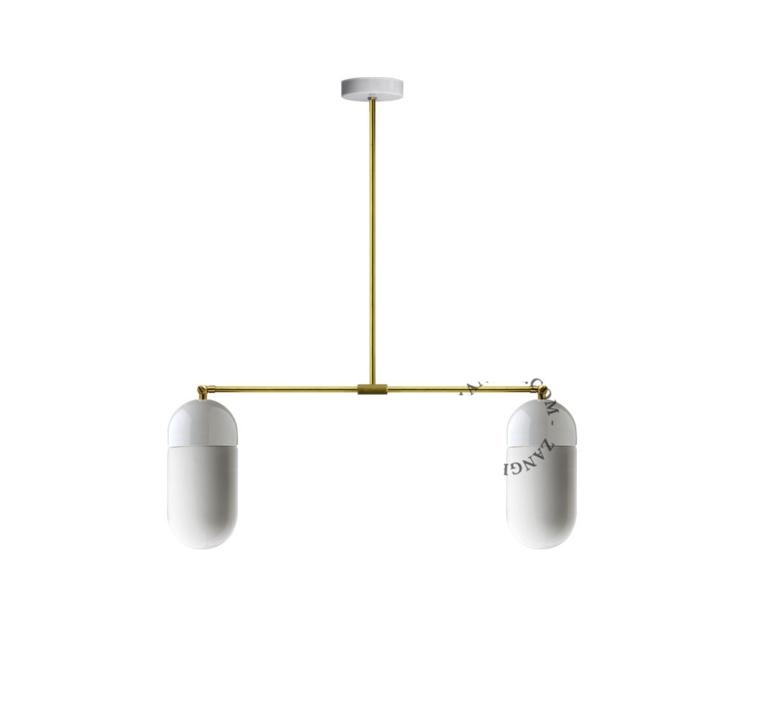 Pure porcelaine glass 009 opalin double  plafonnier ceilling light  zangra light 036 034 w go 009  design signed 37867 product