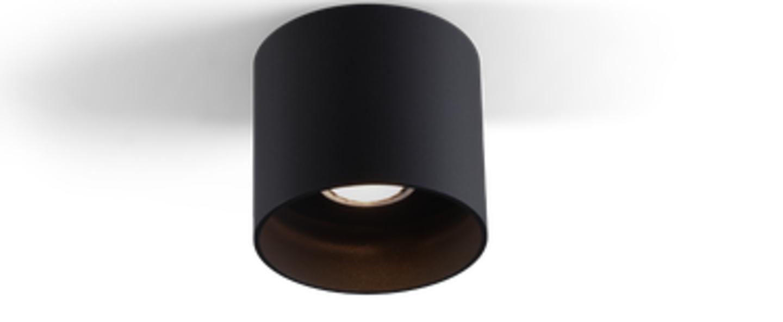 Plafonnier ray 1 0 noir o11 4cm h10cm wever ducre normal