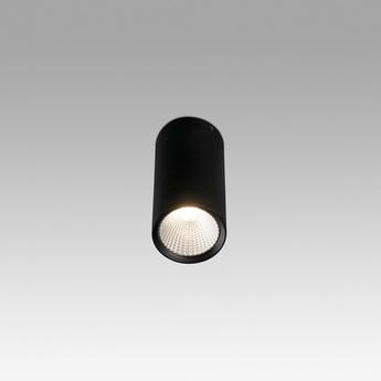 Plafonnier rel led noir 15w 2700k 1340lm o7 5cm h16 5cm 60 faro normal