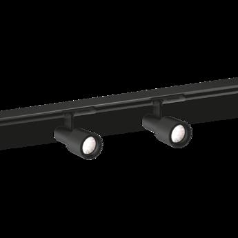 Plafonnier sara on track 1 0 noir o5 5cm h15cm wever ducre normal