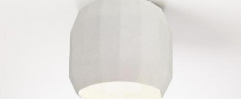Plafonnier scotch club blanc o11 8cm h12 9cm marset normal