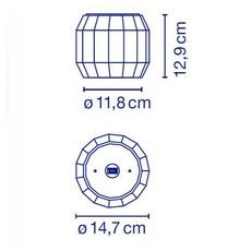 Scotch club  xavier manosa mashallah plafonnier ceilling light  marset a656 033  design signed 43945 thumb