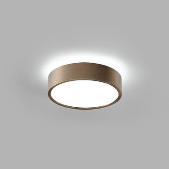 Plafonnier shadow 1 rose gold ip54 led 3000k 1100lm o15cm h5cm light point normal