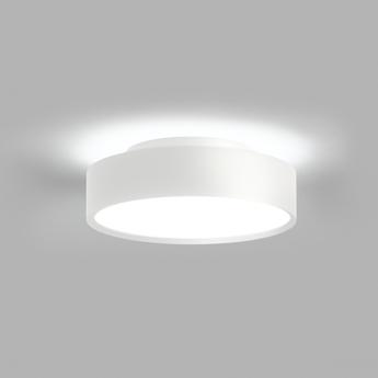 Plafonnier shadow 2 blanc ip54 led 3000k 1800lm o21 5cm h6 5cm light point normal