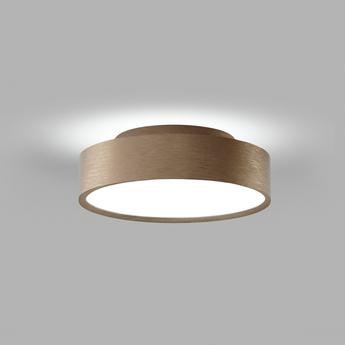 Plafonnier shadow 2 rose gold ip54 led 3000k 1800lm o21 5cm h6 5cm light point normal