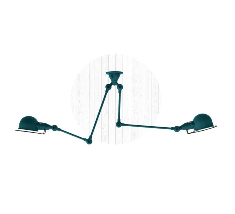 Signal si3773  plafonnier ceilling light  jielde si3773 ral5020 brillant  design signed 57502 product