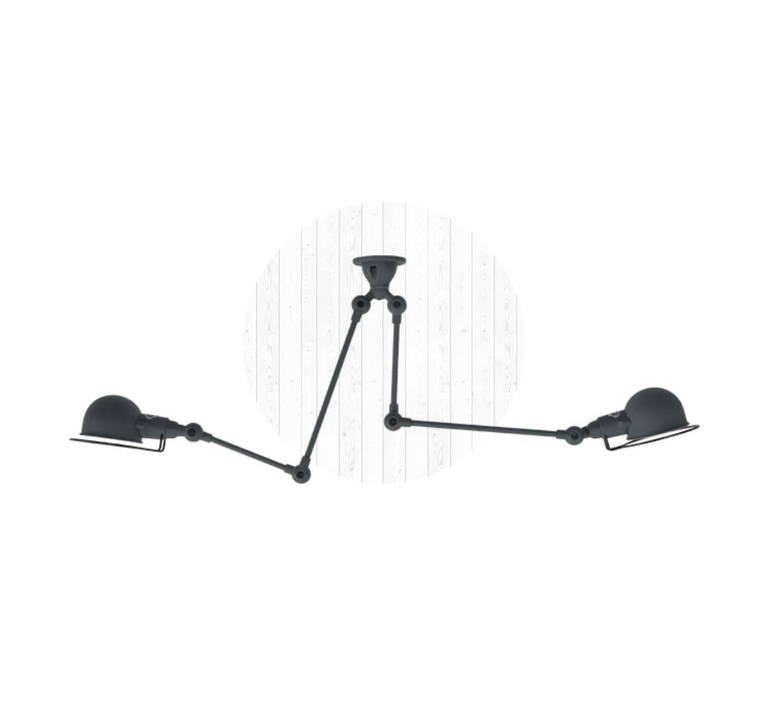 Signal si3773  plafonnier ceilling light  jielde si3773 ral7026 mat  design signed 57487 product