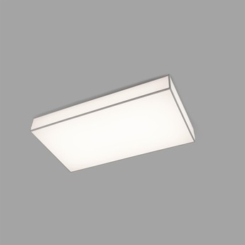 Plafonnier silk 3 blanc led l65cm h35cm faro normal