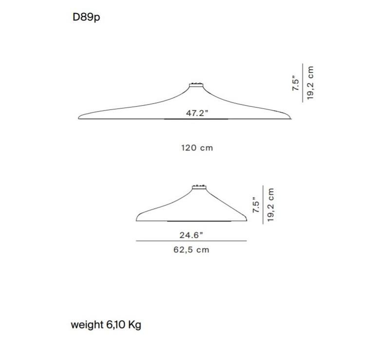 Soleil noir d89p  odile decq plafonnier ceilling light  luceplan 1d890p000035  design signed 56109 product