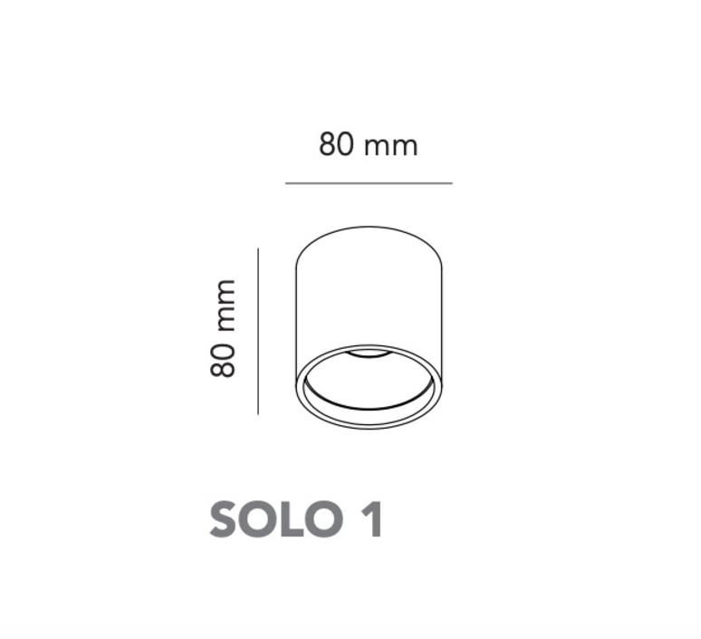 Solo 1 ronni gol plafonnier ceiling light  light point 258990  design signed nedgis 96986 product