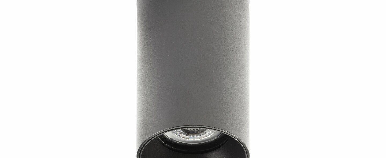 Plafonnier stan noir o6cm h10 5cm faro normal