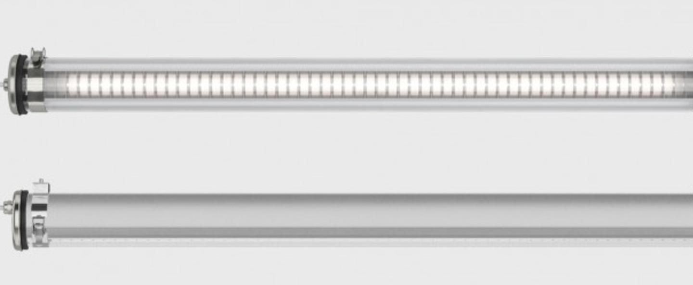 Plafonnier suspension brueghel argent dimmable led 2700k o10cm l100cm ip 68 sammode normal