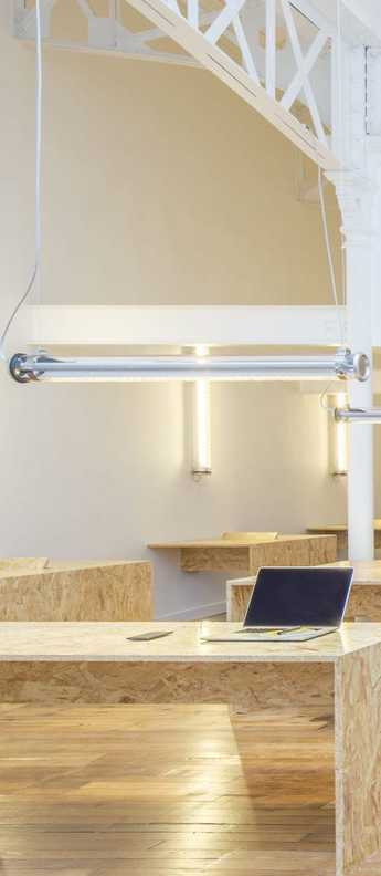 Plafonnier suspension brueghel chrome led o100cm h10cm sammode normal