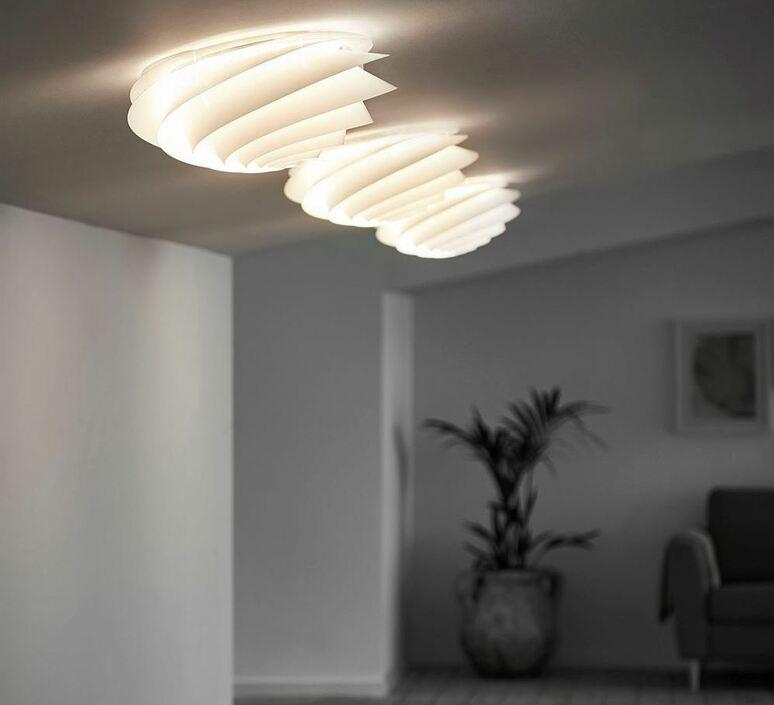 Swirl small oivind slaatto plafonnier ceilling light  le klint 1320s  design signed nedgis 90816 product