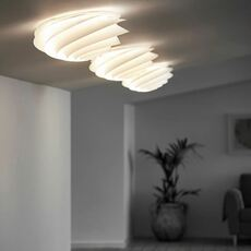 Swirl small oivind slaatto plafonnier ceilling light  le klint 1320s  design signed nedgis 90816 thumb