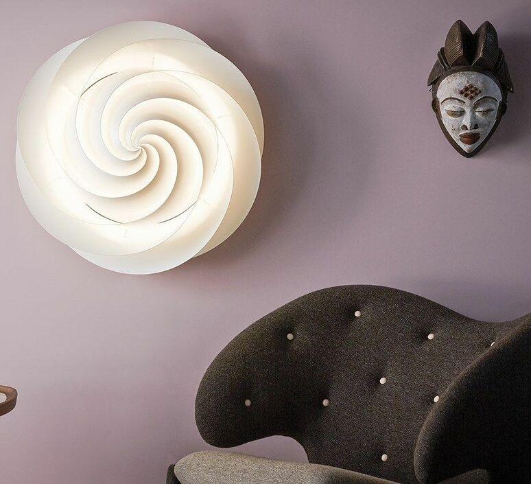 Swirl small oivind slaatto plafonnier ceilling light  le klint 1320s  design signed nedgis 90817 product