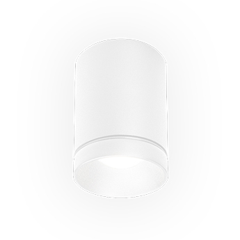Plafonnier taio round ip65 1 0 blanc led 3000k 455lm o8cm h10 7cm wever ducre normal