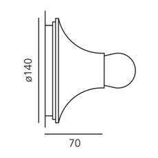 Lesbo quaglio simonelli plafonnier ceilling light  artemide 0054010a  design signed nedgis 75569 thumb