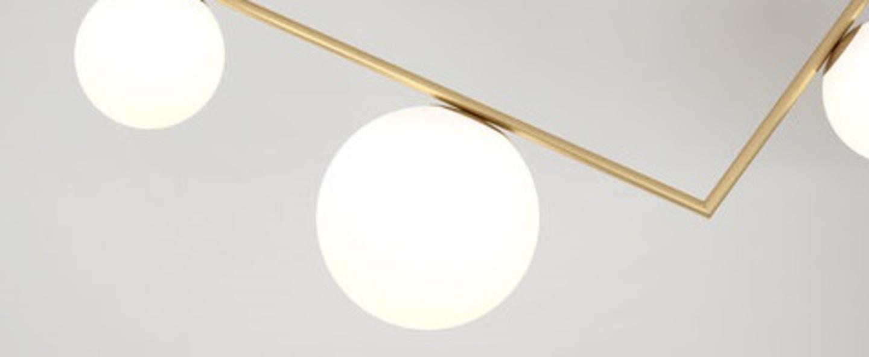 Plafonnier triangle 2 1 1m laiton l100cm h33 3cm atelier areti normal