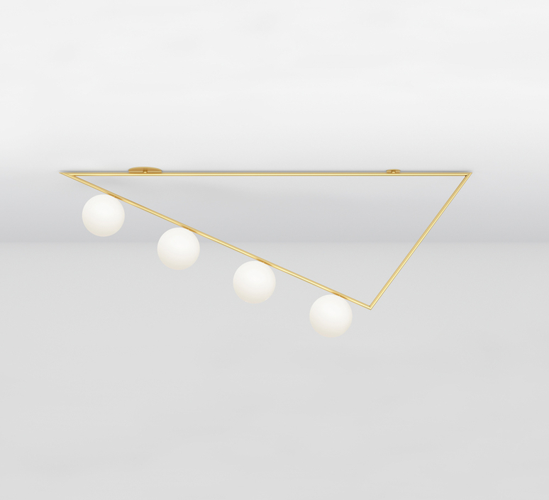 Triangle girlande gwendolyn et guillane kerschbaumer plafonnier ceilling light  atelier areti 385ol c04 br01   design signed nedgis 73517 product