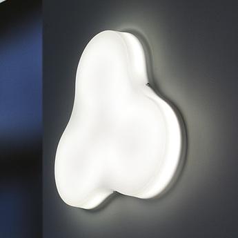 Plafonnier trifoglio blanc o70cm martinelli luce normal