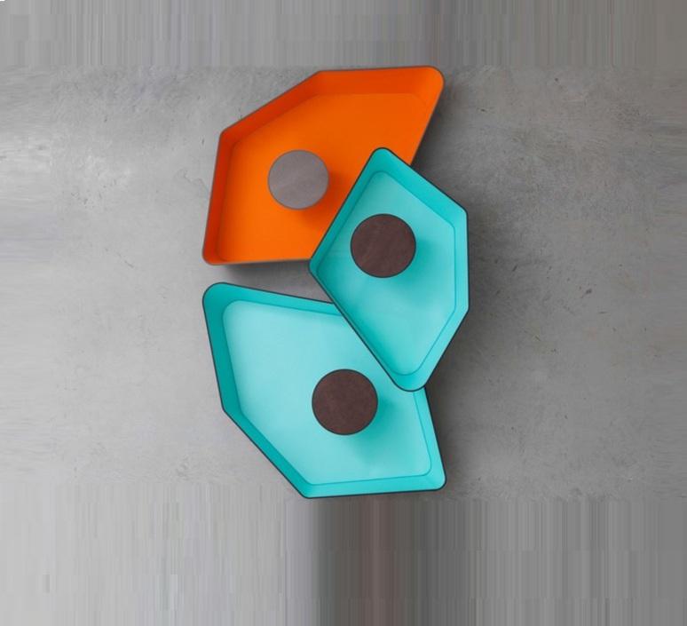 Trio grand nenuphar kristian gavoille designheure pl2g1pnledtot luminaire lighting design signed 23948 product