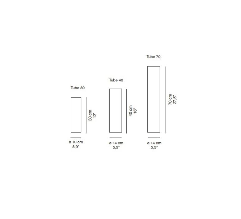 Tube 40 enrico franzolini plafonnier ceilling light  karboxx 01sf04001  design signed 33549 product