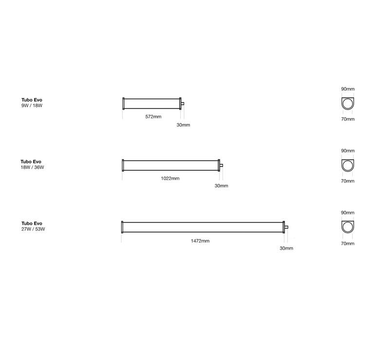 Tubo evo elliptical 27 x41 on off studio o m light plafonnier ceilling light  om 43209 20  design signed nedgis 77839 product