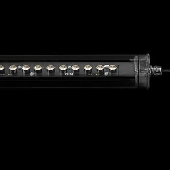 Plafonnier tubo evo elliptical 27 x41 on off transparent led 3000k 2200lm l57 2cm h8 5cm o m light normal