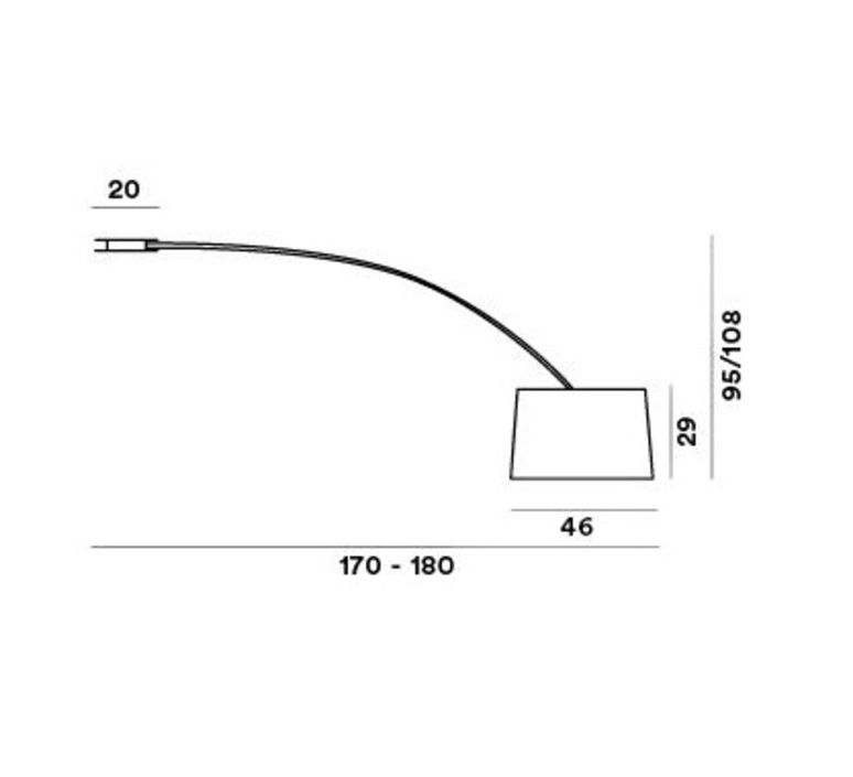 Twiggy marc sadler plafonnier ceilling light  foscarini 15900810  design signed nedgis 84813 product