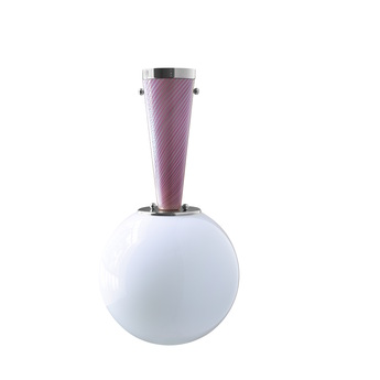 Plafonnier upside down nickel 30 rosa da sogno o30cm h57 9cm magic circus normal