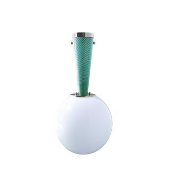 Plafonnier upside down nickel 30 verde immaginario o30cm h57 9cm magic circus normal