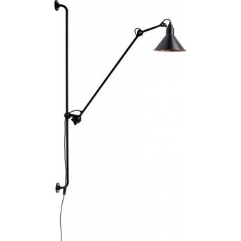Pplique murale lampe gras 214 noir cuivre h118cm dcw editions normal