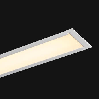 Profile ledliner65 recessed ready to go blanc p65cm l117 7cm h8cm 3000k 4400lm 29w doxis normal