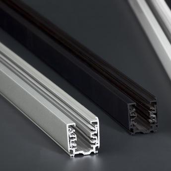Rail noir pour projecteur 2m o3 2cm l2m faro normal
