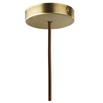 Rosace laiton o10cm h2 4cm zangra normal