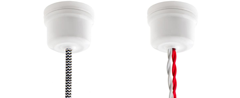 Rosace pure porcelaine blanc o6cm h5cm studio zangra normal