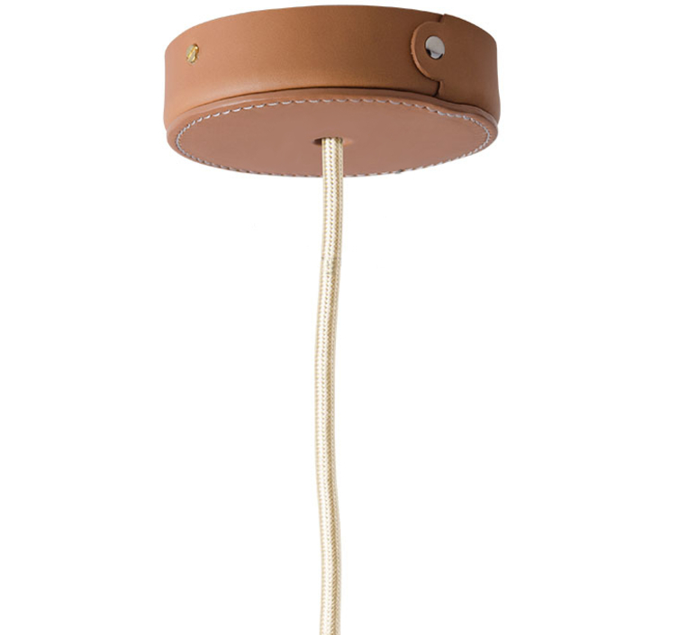 Rosace en cuir zangra rosace canopy  zangra ceilingcup 036 br  design signed 56230 product