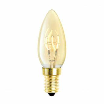 Set de 4 ampoules led e14 filament dore dimmable o3 5cm h10cm eichholtz normal