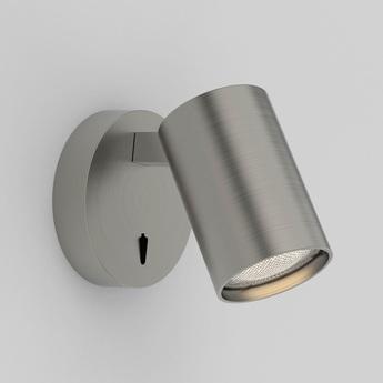 Spot ascoli single switched niquel l9cm h10cm astro lighting normal
