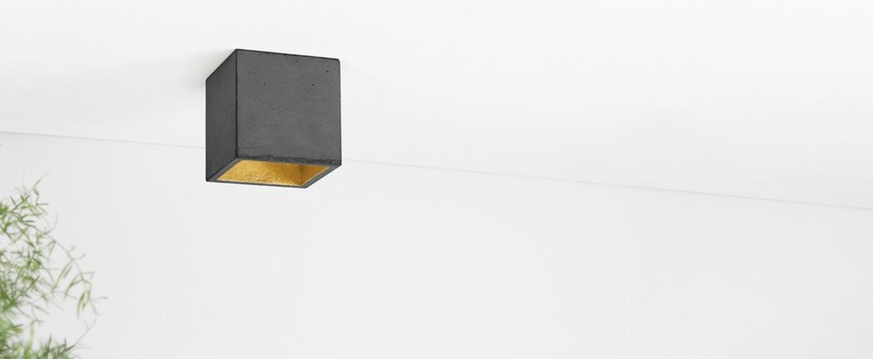 Spot b7 gris fonce cuivre led l10cm h10cm gantlights normal