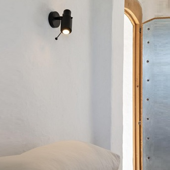 Spot biny spot noir l19 5cm h15 4cm dcw editions normal