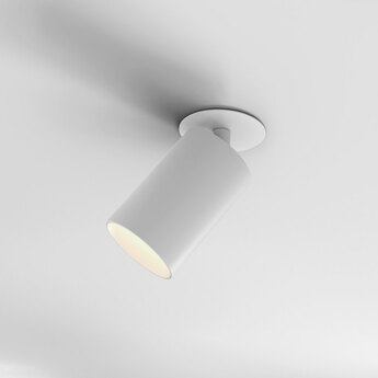 Spot can 75 recessed blanc mat led 3000k 986lm o7 5cm h14 5cm astro normal