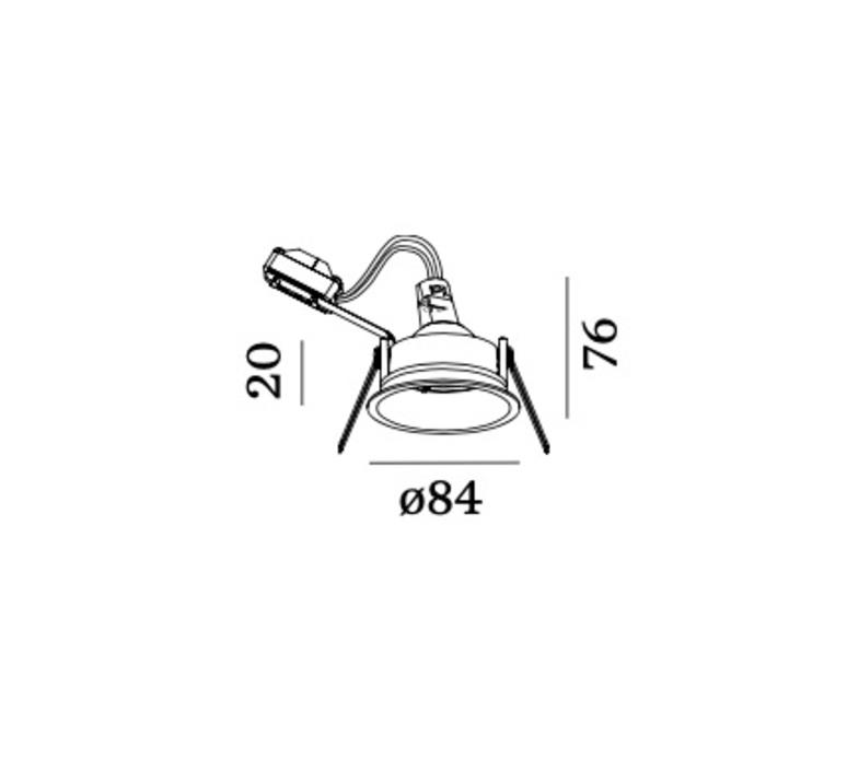 Deep 1 0 mr16 studio wever ducre spot spot light  wever et ducre 112110w0  design signed nedgis 78684 product